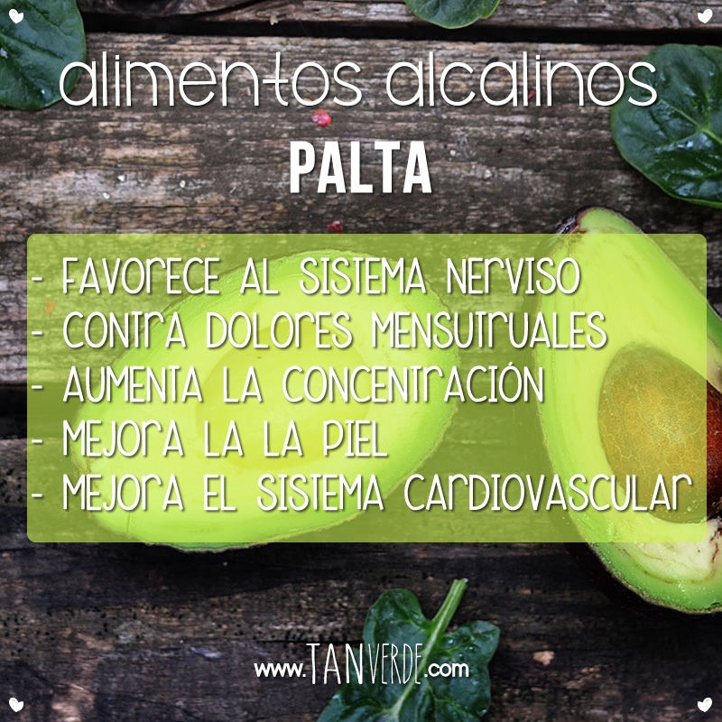 Beneficios de la Palta